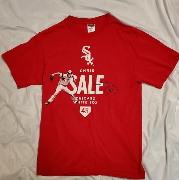 Jerzees Other - Chris Sale White Sox Autograph Shirt #49